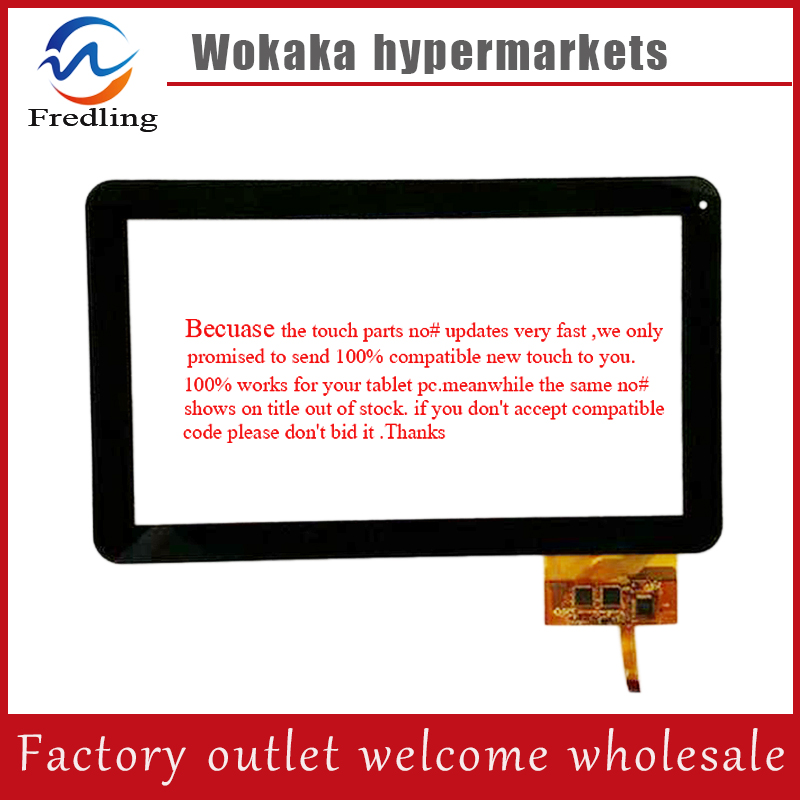 Original New touch screen 10.1 inch GoClever TAB R104.2 Tablet touch panel digitizer glass Sensor replacement Free Shipping witblue new touch screen for 9 7 archos 97 carbon tablet touch panel digitizer glass sensor replacement free shipping