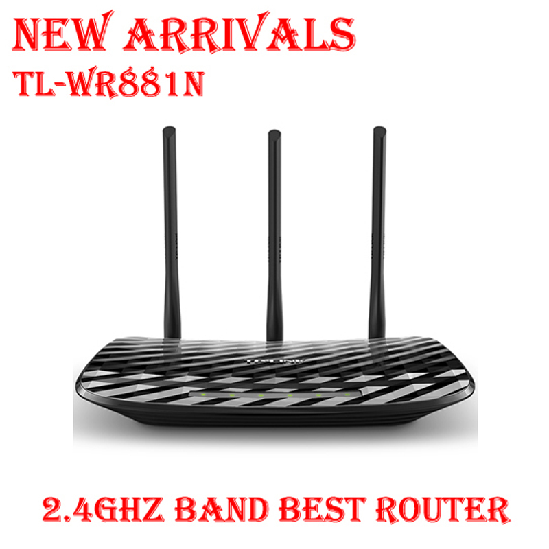 On Sale TP-LINK TL- 450Mbps WR881N 2.4G 802.11n wifi extender Wireless Router 3 antennas MIMO d link dir 605l 802 11b g n 300mbps wifi wireless router black
