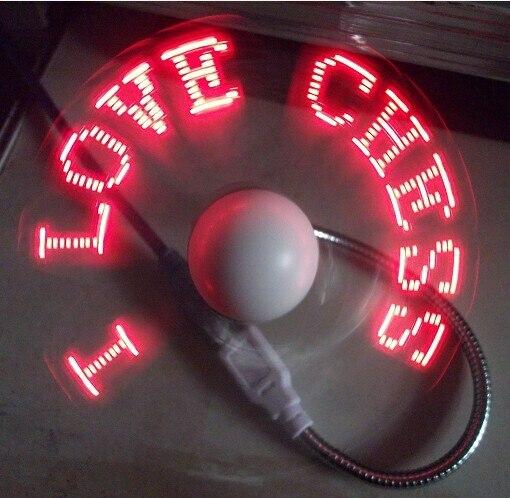 Гибкая USB вентилятор свтеодиодный фонарик для записная книжка USB вентилятор охлаждения с из светодиодов световой программного обеспечения