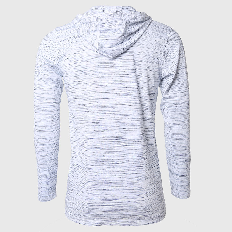 Aliexpress.com : Buy Long Sleeve Hooded T Shirts Men Casual Basic ...