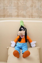 Free Shipping 30CM Mickey Mouse Movie Character Goofy Plush Toys Doll Drop Shipping Stuffed Goofy Animals Toy For Kids