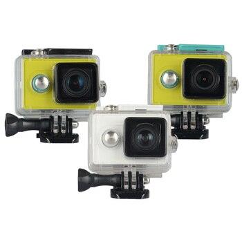 Oryginalny KingMa dla Xiao mi Yi 1 wodoodporna (wodoodporne) przypadku, mi Yi 40 M nurkowanie sport wodoodporne pudełko, yi Action Camera aksesoris akcesoria