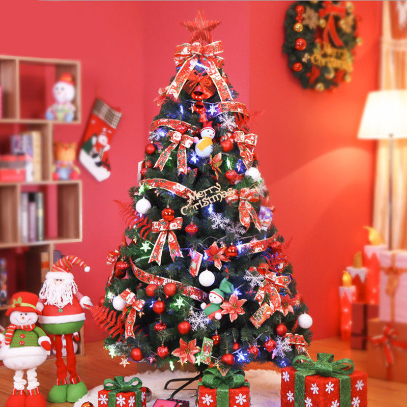 1.5 M / 150cm Luxury Encryption Christmas Tree Decorated