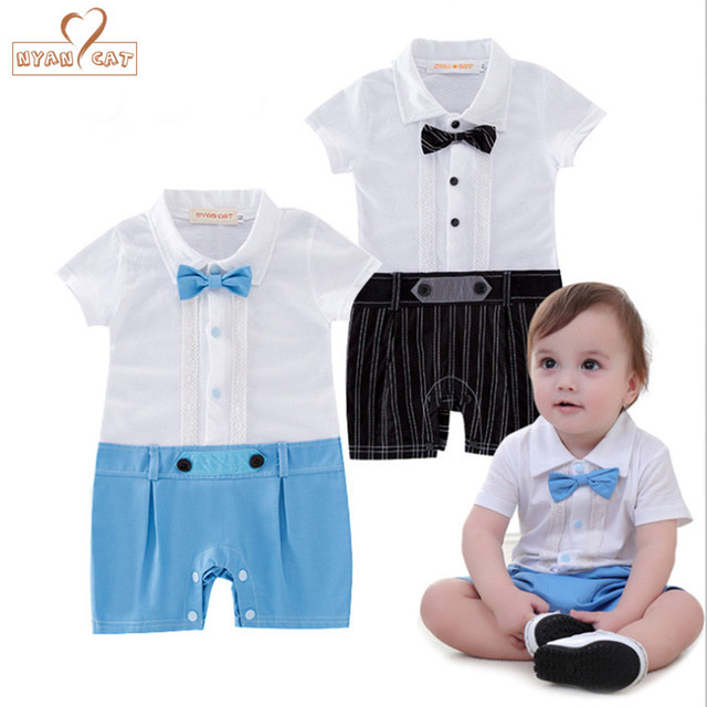 899d9f8ec NYAN CAT Baby boys infant toddler kids summer clothes romper ...