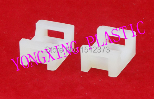 ФОТО 100pcs/lot nylon material saddle cable tie mounts STM-2