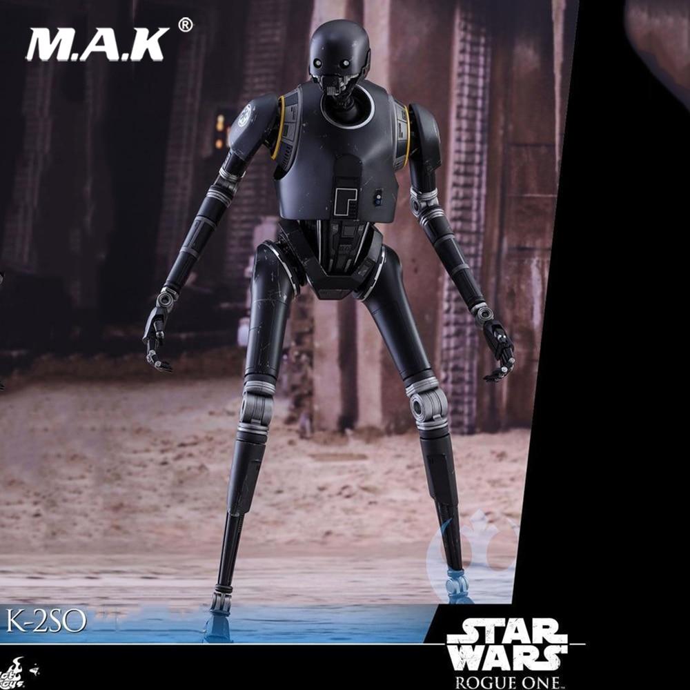 1:6 масштаб Военная солдаты HOTTOYS 1/6 MMS406 Rogue One A Star Wars Story K 2SO коллекционные фигуры полный набор Рисунок Игрушки