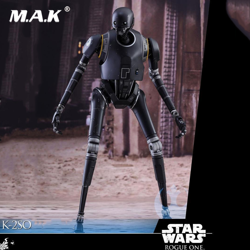 1:6 echelle soldats militaires HOTTOYS 1/6 MMS406 Rogue One A Star Wars histoire K-2SO figurine à collectionner figurine complète jouet