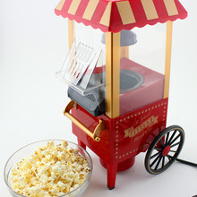 Горячая домашний ностальгия электрический горячий воздух попкорн Мини домашнего использования бытовой попкорн машина