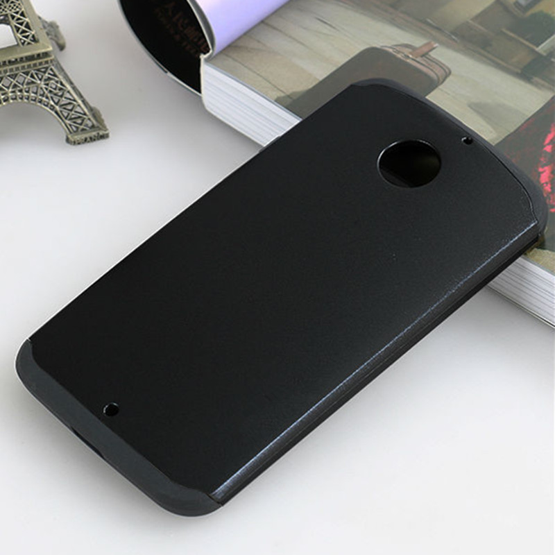 Slim Shockproof Armor Case For Motorola Moto E E2 E+1 G G2 G+1 G3 Moto X Play X3 X2 X+1 Hybrid TPU Hard Back Tough Slim Case