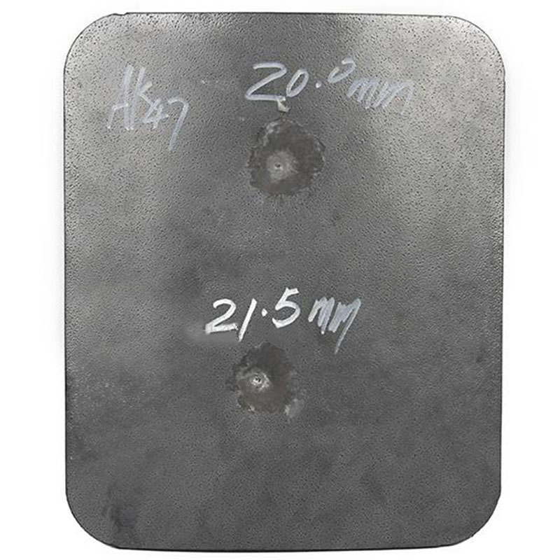 CCGK Bulletproof Plate Steel Protection AK 47 4mm M 16 6mm Ballistic Panel DHL Tactical Vest