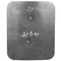 CCGK Bulletproof Plate Steel Protection AK 47 4mm M 16 6mm Ballistic Panel DHL Tactical Vest