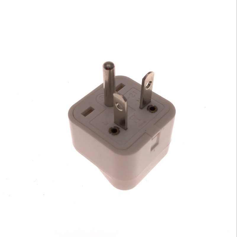 1 piezas enchufe macho de EE. UU. 5-20P a enchufe Universal de viaje para mujer adaptador de enchufe de pared 10A 250V
