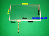 Original 6 1 Inch 6 2 Inch 148mm 82mm 149 83mm 4 Wire Resistive Touch Screen