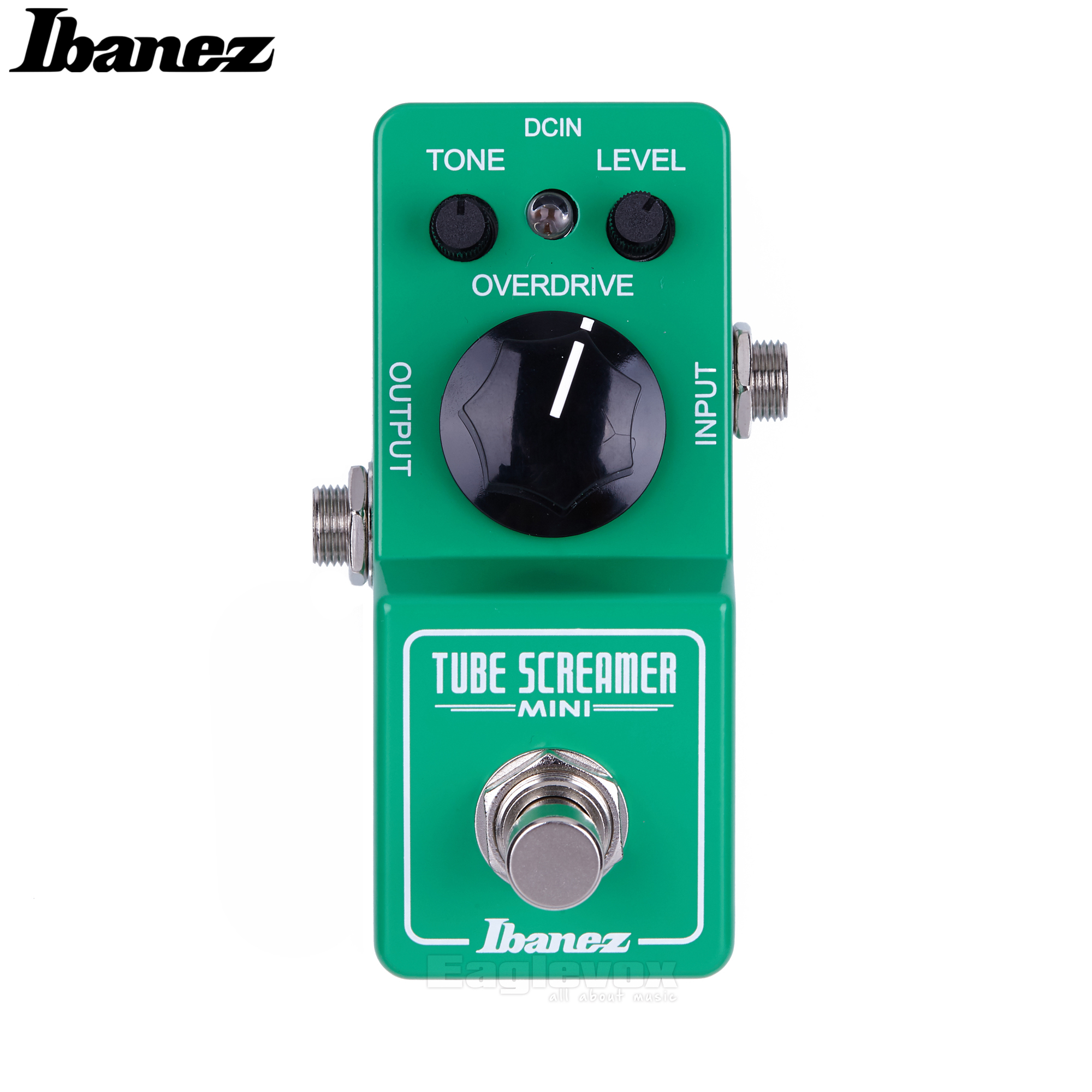 Ibanez Tube Sreamer Overdrive Guitar Effect Pedal True Bypass Analog Effects Stompbox for Electric Guitar ST Mini aroma adr 3 dumbler amp simulator guitar effect pedal mini single pedals with true bypass aluminium alloy guitar accessories