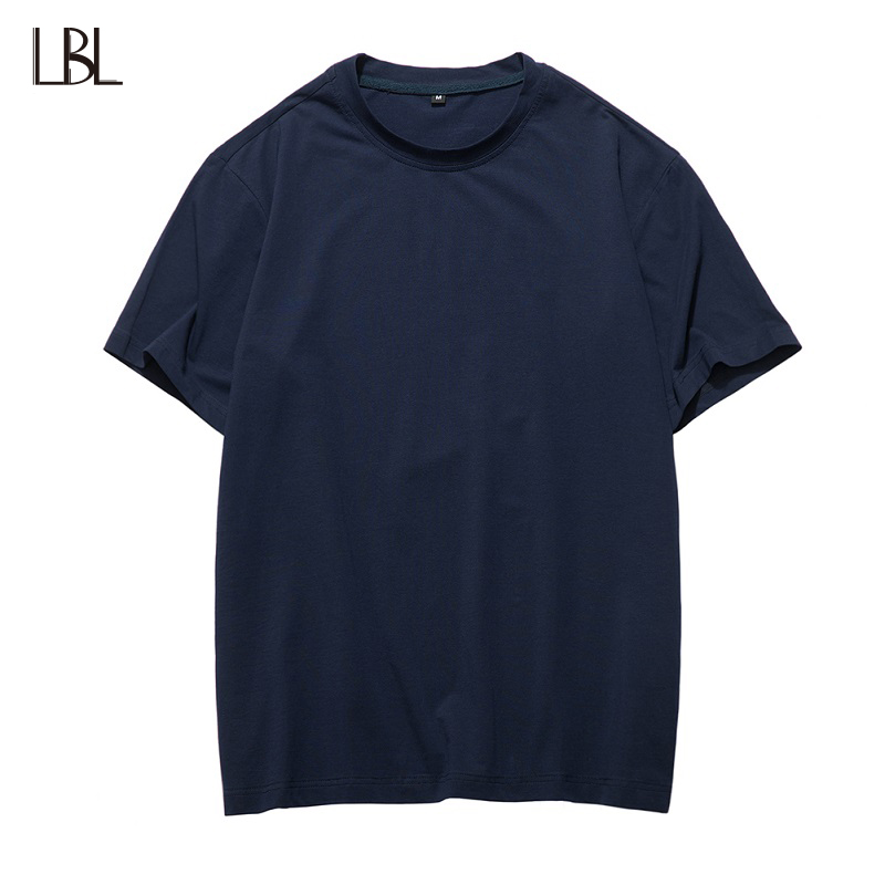 US Size Casual T Shirt Men Bodybuiding Mans Sportswear Solid Fitness Clothing Streetwear Breathable Tee Shirts Summer Top XXL