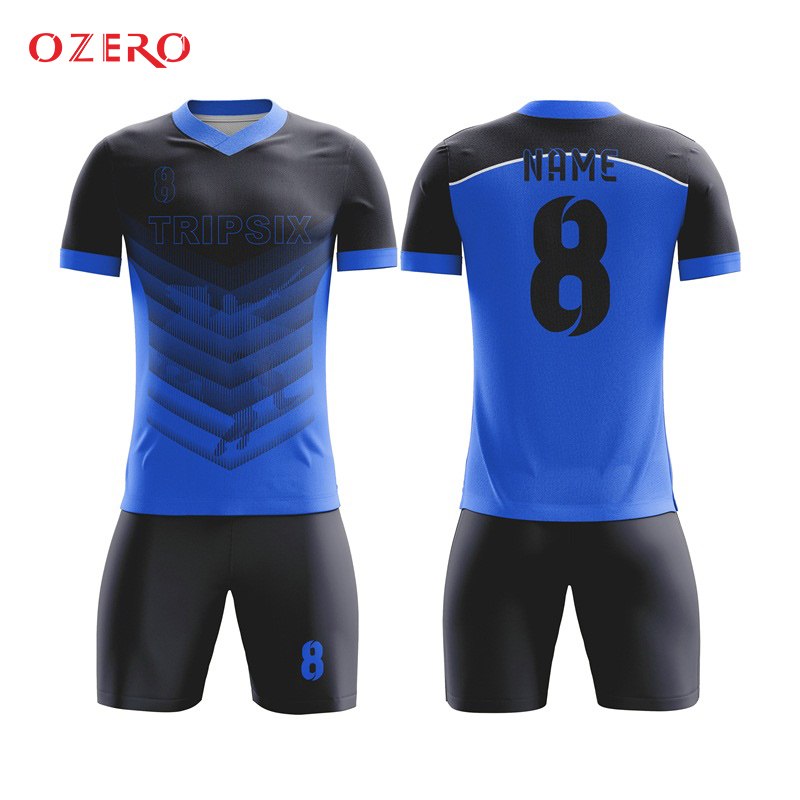 new football uniform set design dry fit sublimated thai football jersey 25c1544d9