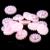 9-12mm 1000/2000 pcs Rosa Claro AB Resina ABS Half Round Imitação Pérolas Beads Casamento Do Girassol cartões de Decoração Enfeites