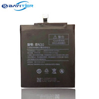 High Quality For Xiaomi Redmi 4A Battery Original 3030mAh Li Ion BN30 Battery Replacement For Redmi