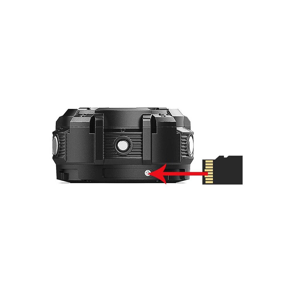 KOMERY Mini Sport Actie Camera HD1080P WiFi Waterdichte 30 M DV 5 pcs groothoek lenzen Night Versie Schieten smart Horloge Camera - 4
