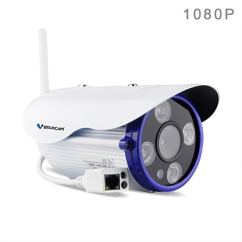 Vstarcam C50S Full HD 1080P Outdoor Waterproof IP Bullet Camera 2.0MP WIFI ONVIF 2.4 Dual IR-CUT 50m IR Distance
