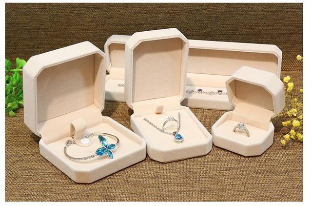 Aliexpresscom Buy 4 sizes Engagement Velvet jewelry box gift