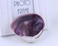 Natural purple conch shells aquarium landscaping decoration sea shells nautical home decor