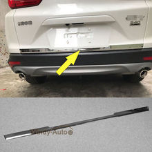 Fit For Honda CRV CR-V 2017 2018 Rear Trunk Lid Tailgate Lower Cover Trims ABS
