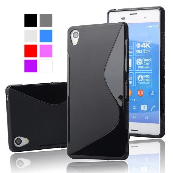 Galleria fotografica For Sony Z1 Case Slim Anti-Skid Rubber Soft Plastic Case For Sony Xperia Z1 L39h C6902 C6903 Cover Ultra Thin S Line Phone Case