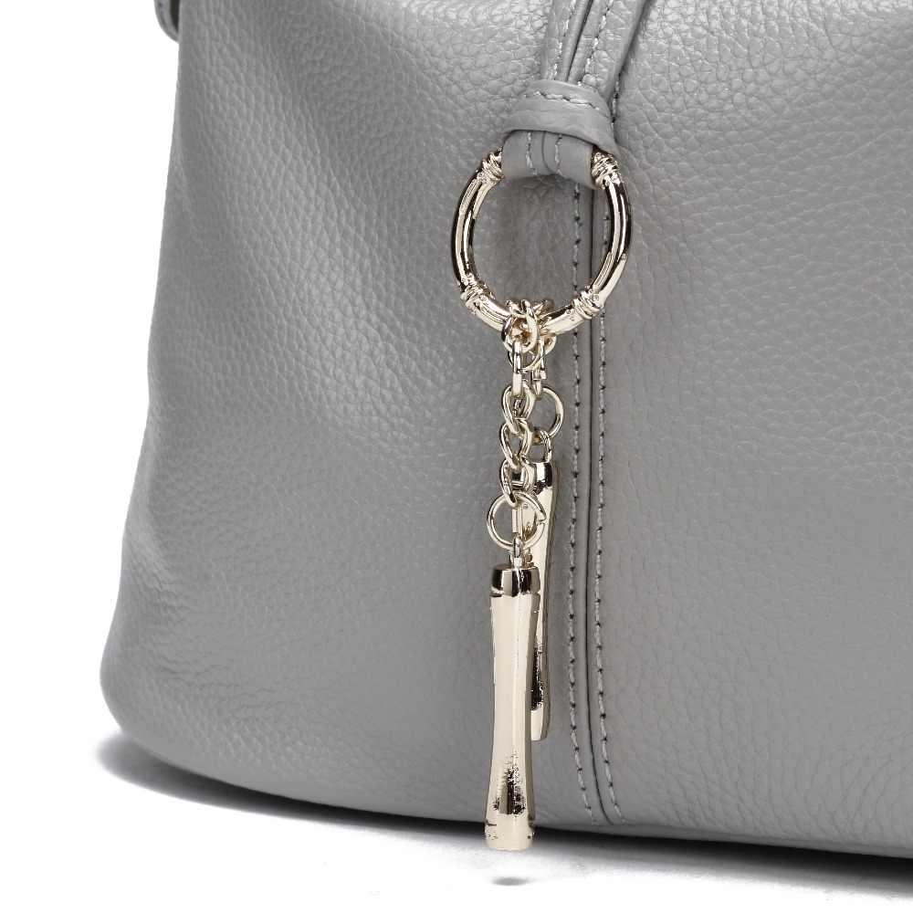 13 ألوان لينة 100% بقرة حقيقية حقائب يد جلدية فتاة صغيرة النساء الكتف مصمم رسول Crossbody حقيبة السيدات حقيبة بولسو