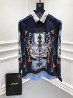WE10679BH модные Для мужчин рубашки 2018 взлетно посадочной полосы Элитный бренд Европейский дизайн вечерние стиль Мужская одежда