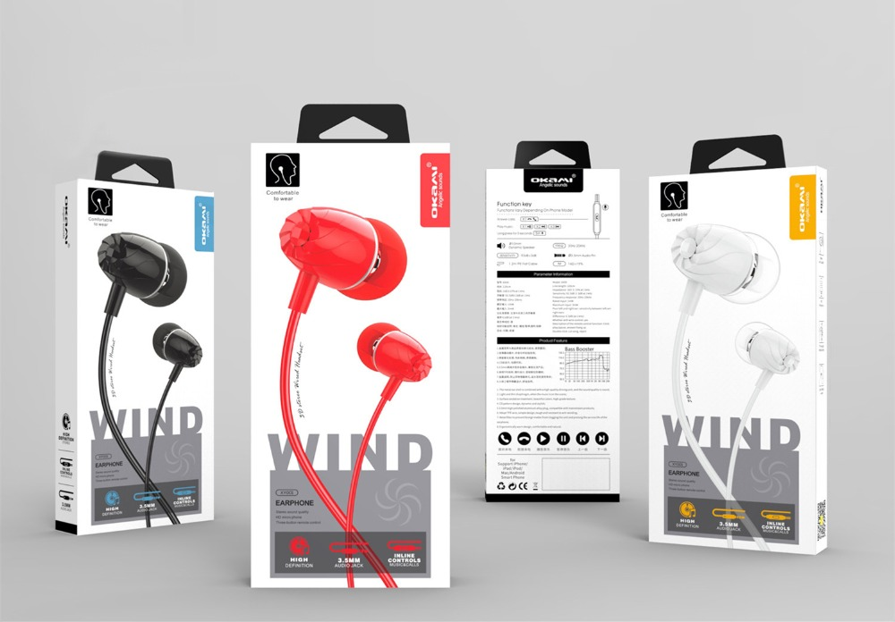 10pcs a Lot 3.5MM In Ear Headphone for Smartphones MP3 MP4 MP5 PDA with Microphone-in Phone Accessory Bundles & Sets from Cellphones & Telecommunications    1