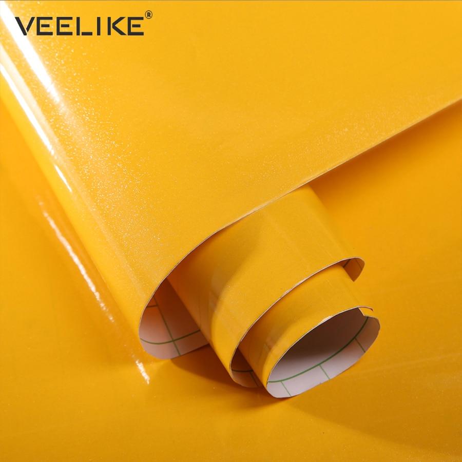 Glossy Pvc Vinyl Contact Paper Home Decor Wallpaper