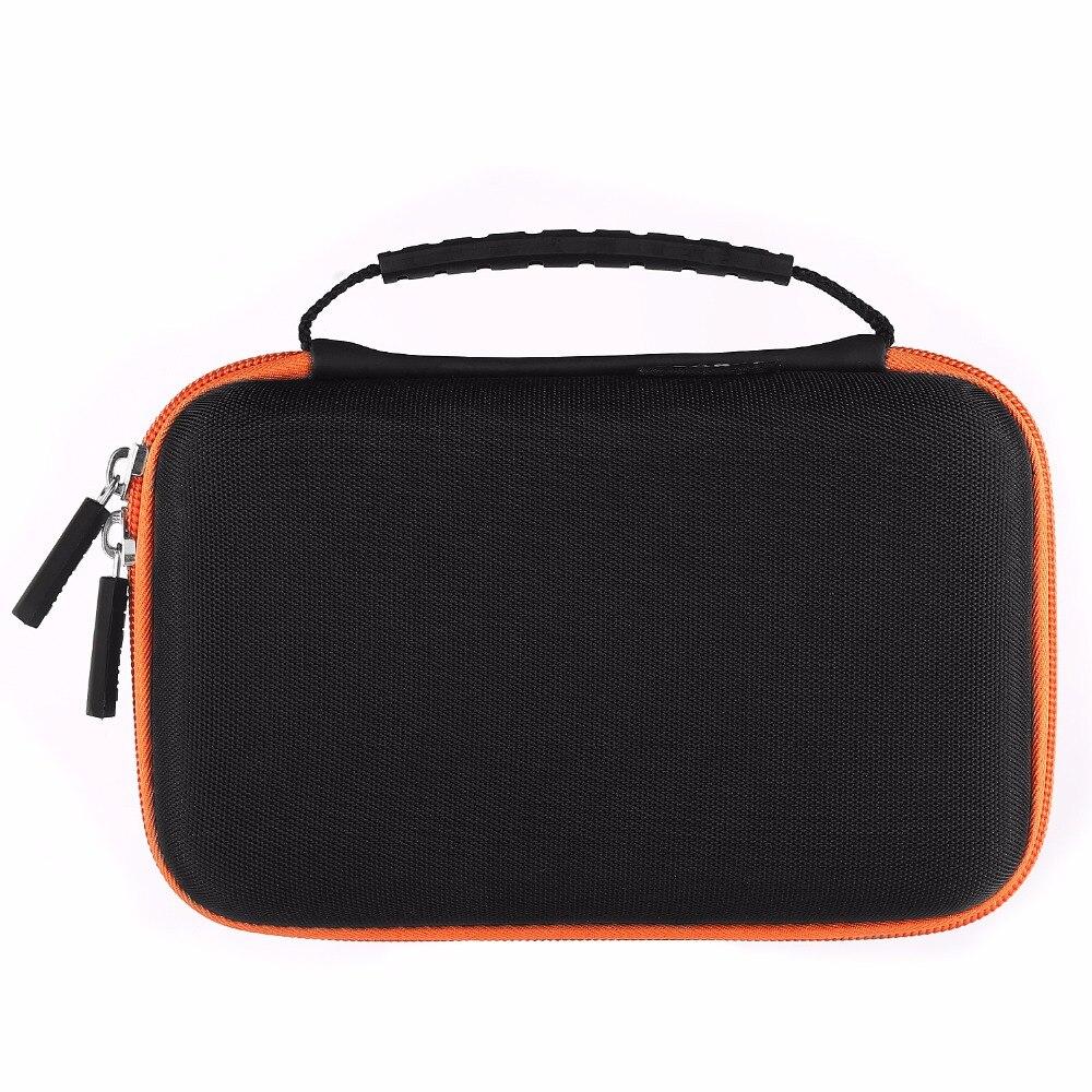 Přenosný pevný kufr nesoucí cestovní cestovní brašna pro 18650 Powerbank / externí pevný disk / HDD / elektronika / příslušenství U disk