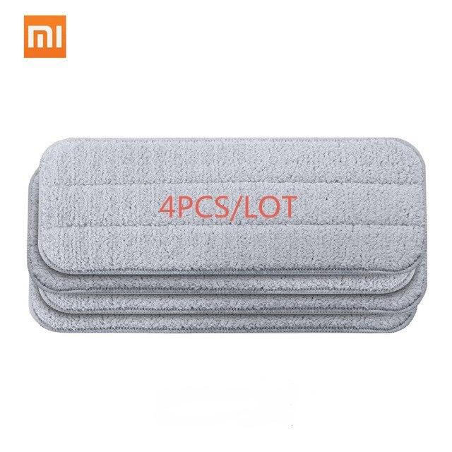 Xiaomi Mijia Deerma распыления воды Швабра 360 Вращающийся стержень Чистый инструмент углерода волокно Материал Ткань для Умный дом