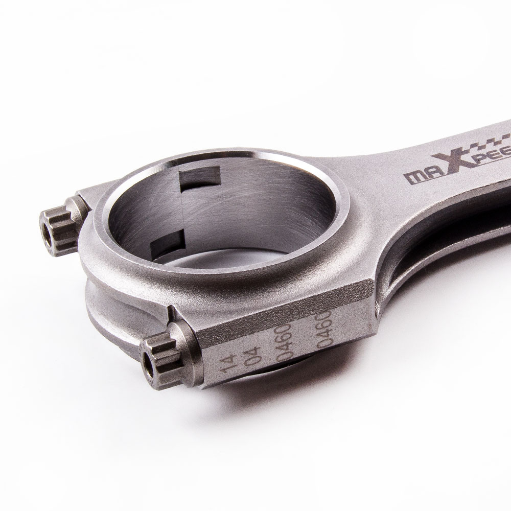 Con Rods Connecting Rod for Isuzu Fargo Holden 4ZB1 1.8L 4ZC1 2.0L 133.5mm 4340 H Beam Crankshaft Cranks Piston Pin Balanced