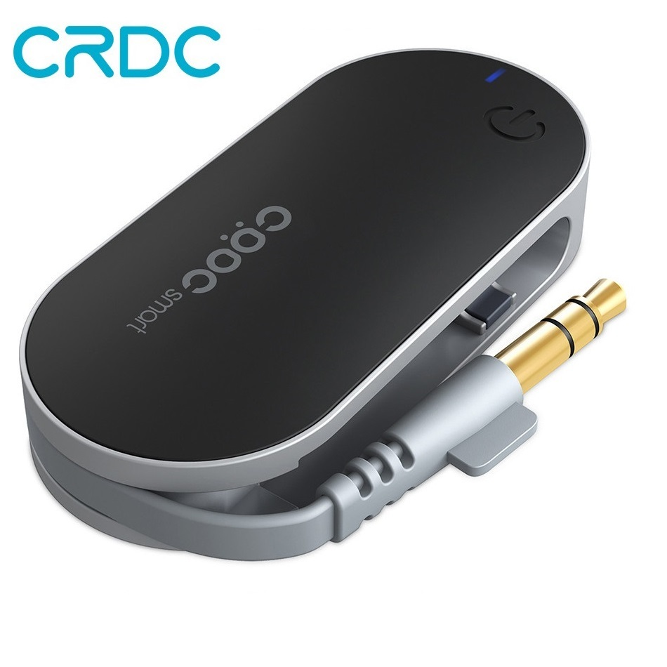 CRDC Bluetooth Transmitter 3,5mm Leistungsstarke Bluetooth Audio Transmitter TV Tragbare A2DP Stereo Musik Adapter für iPod Tablet PC