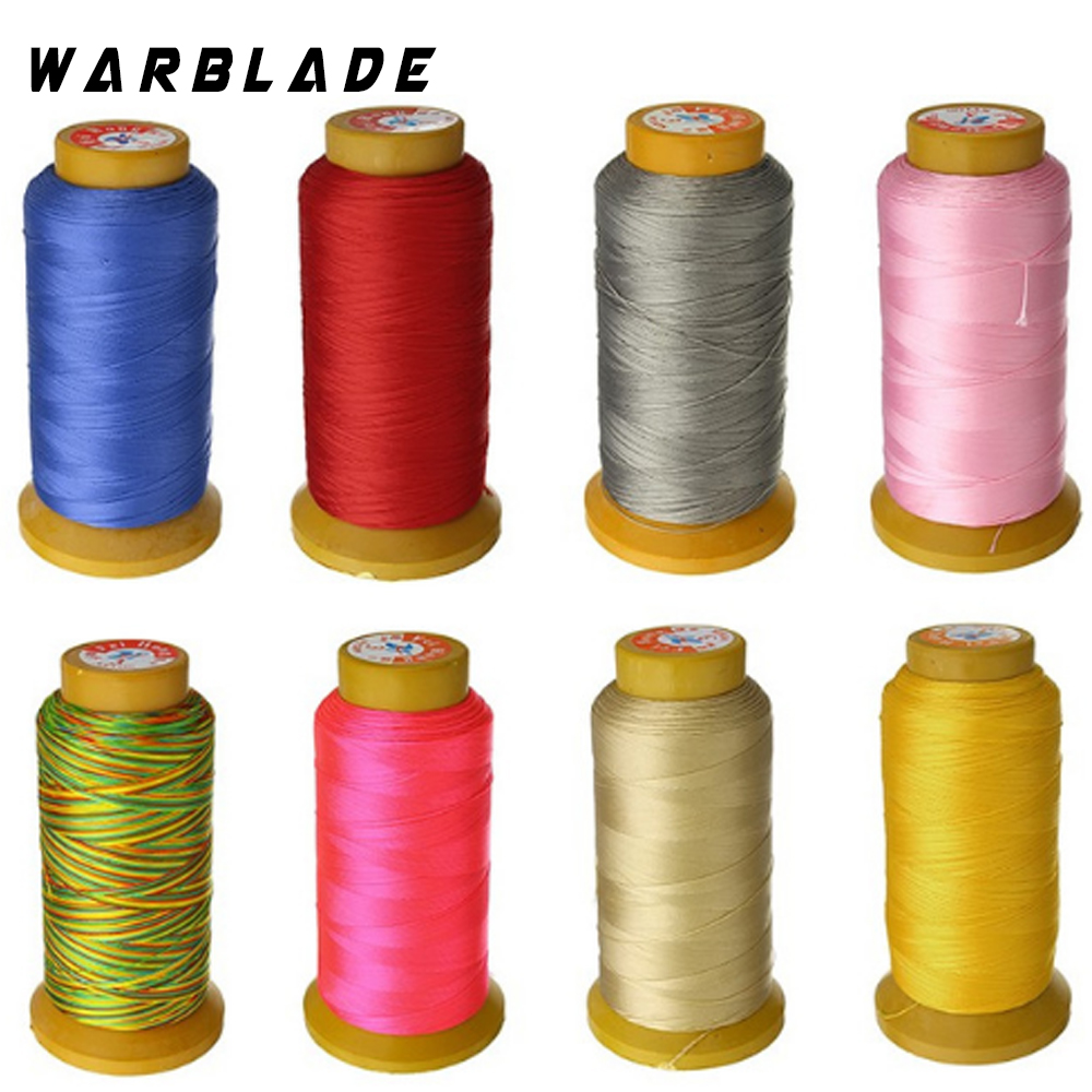 High Quality Size 0.2/0.3/0.4/0.6/0.8/1.0mm 170-760M Nylon Waxed Thread string Cord jewely findings for DIY Stitching Thread