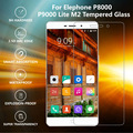Elephone M3 P8000 P9000 P9000 Lite 0.3mm 2.5D 9H Ultra Thin Tempered Protective Glass Screen Protector Film W0F24 P66