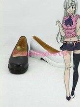Yedi ölümcül günah Nanatsu hiçbir Taizai Elizabeth Liones Cosplay ayakkabı çizmeler Custom Made cadılar bayramı noel için