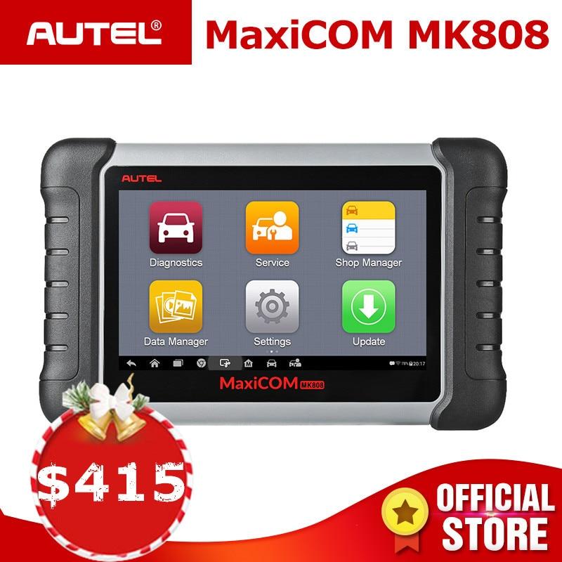Autel MaxiCOM MK808 OBD2 Scanner Diagnostico Auto Strumento di OBD 2 Lettore di Codice Automobilistico Tester ODB2 Programmatore Chiave Immobilizer MX808