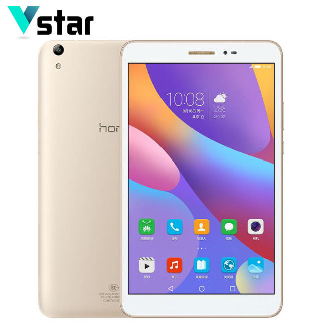 "8.0 ""huawei honor 2 wi-fi 3 ГБ ram окта ядро 16 ГБ tablet pc snapdragon msm8939 android 6.0 8.0mp камера otg gps"