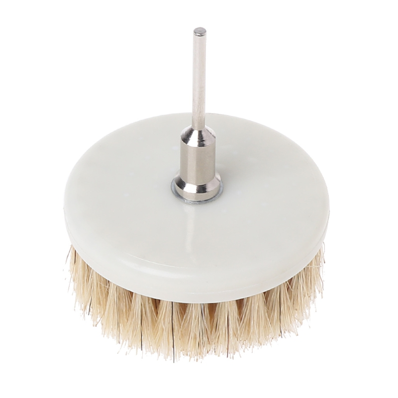 Dia. 60mm Power Scrub Drill Brush for Cleaning Stone Mable Ceramic tile Wooden floor Plastic Thick carpet Thick cloth