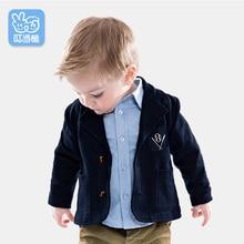 Autumn Baby boy Suit jacket Baby Clothes Boys suits for wedding Kids British Wind Birthday Dress Boygentleman suit 0-4Year недорого