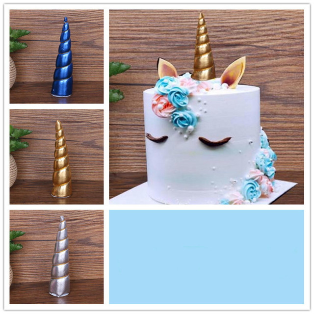 Unicorn Cake Decoration Multi Color Display Birthday Cake Decoration