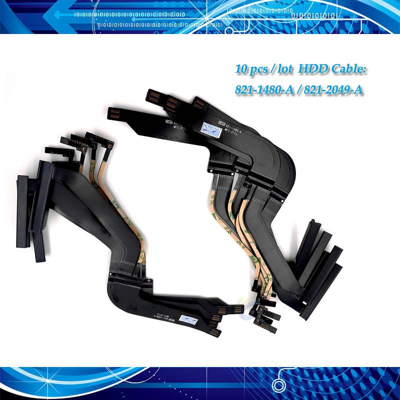 10 Pieces HDD Hard Drive Flex Cable for MacBook Pro 13 A1278 821 1480 A HDD