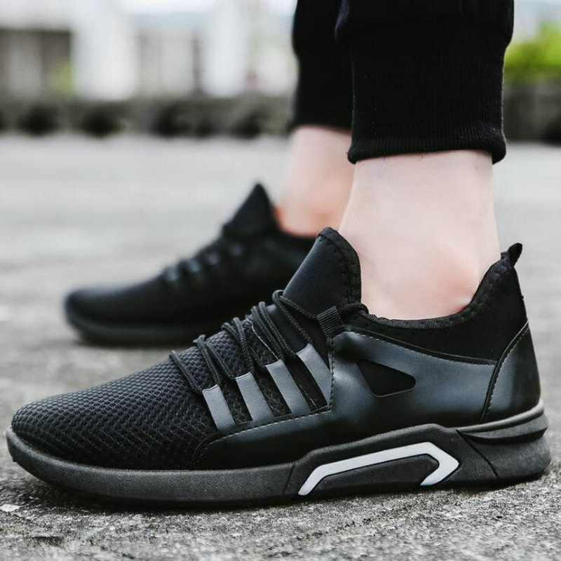 B shoes Fashion Summer Sneakers Lightweight Tenis Shoes Men Casual Shoes Lace-up Male Flats Walking shoes LF-15PB