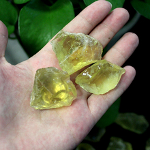 50G Natural Raw Yellow Citrine Quartz Crystal Rough Stone Specimen Healing crystal love natural stones and minerals fish tank