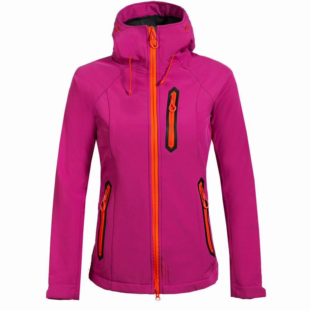Coquille souple femmes manteau coupe-vent veste veste de Ski en plein air femmes randonnée hiver vestes voyage chasse vêtements Ski Sports