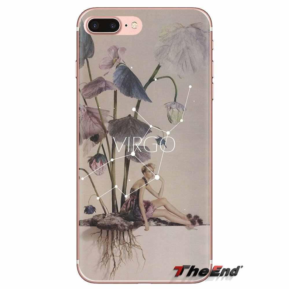 TPU Cases Covers For Sony Xperia Z Z1 Z2 Z3 Z5 compact M2 M4 M5 C4 E3 T3 XA Huawei Mate 7 8 Y3II My Lockscreens Zodiac Signs Art