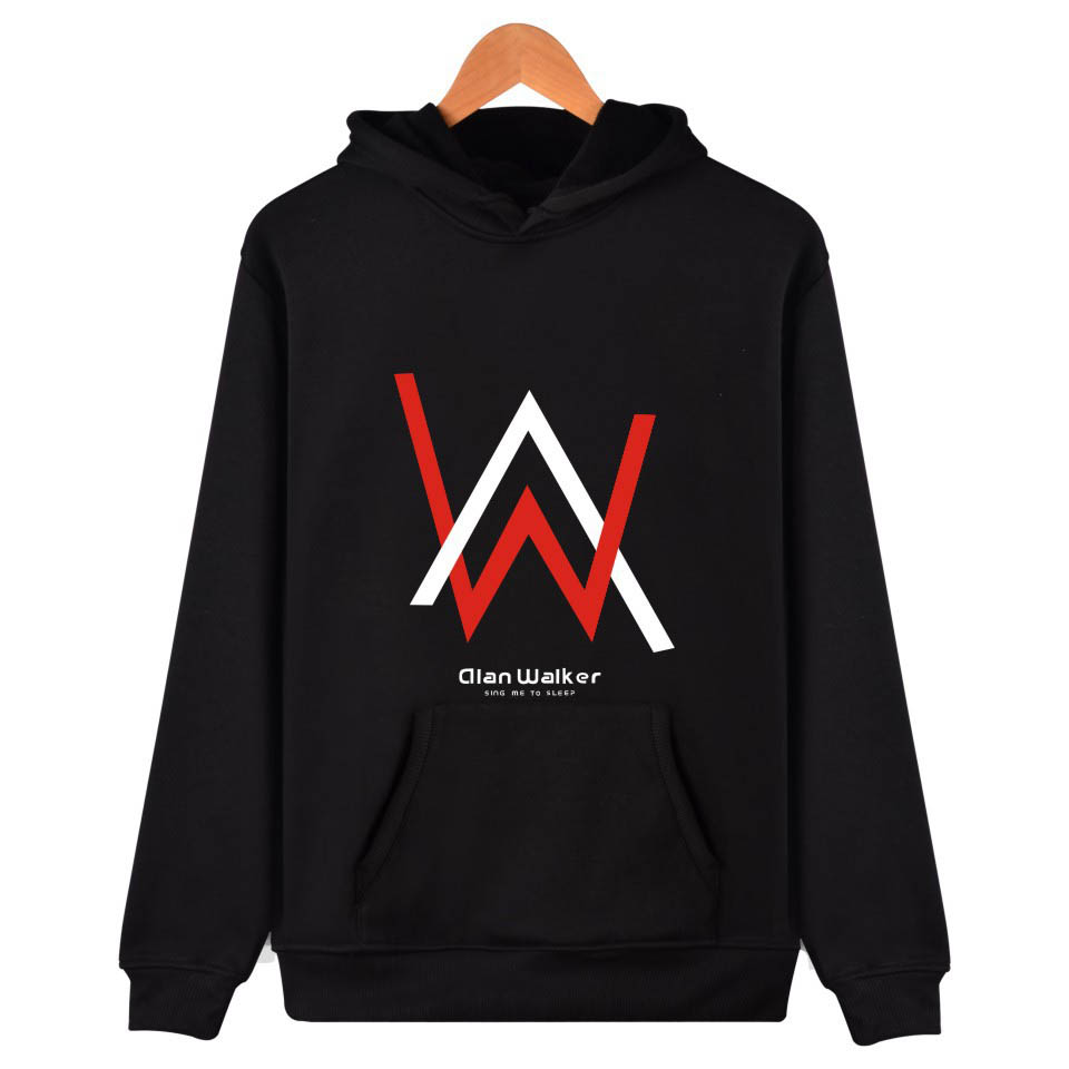 Alan Walker hip hop Hoodie Casual Pullover plus size tops Harajuku hooded Sweatshirt mens Hoodies and Sweatshirts unisex clothes